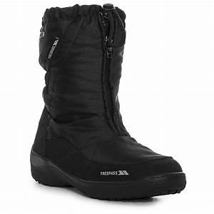Trespass Lara Womens Ladies Waterproof Winter Snow Shoes ...