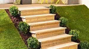 comment monter soi meme un escalier les escaliers en kit With amenagement exterieur terrain en pente 19 comment construire son abri de jardin en bois astuces et