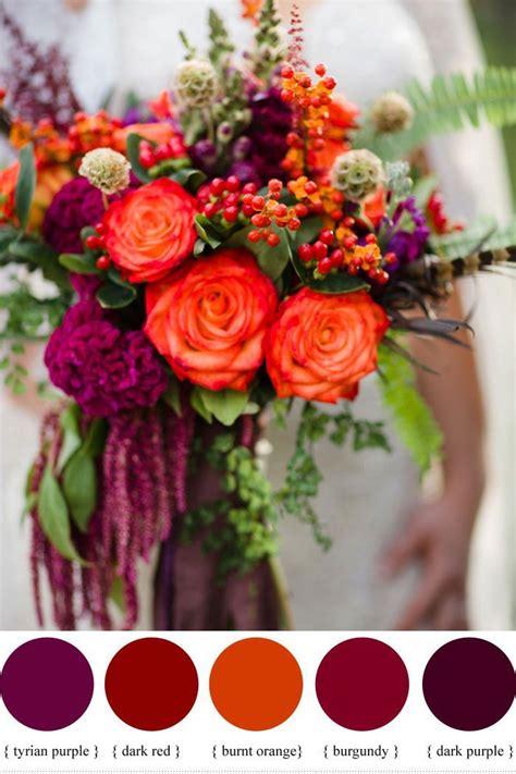 Color Inspiration Wine Red Color Palette Wedding Ideas