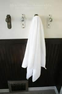 bathroom towel hanging ideas creative ways to hang bathroom towels