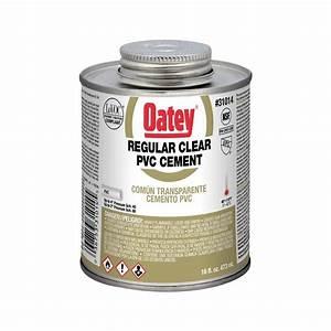 16 Oz  Pvc Clear Solvent Cement-310143