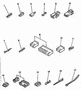 Connectors And Terminals Diagram  U0026 Parts List For Model