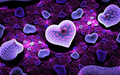 Purple Love Wallpaper Hd Free Download 1080p