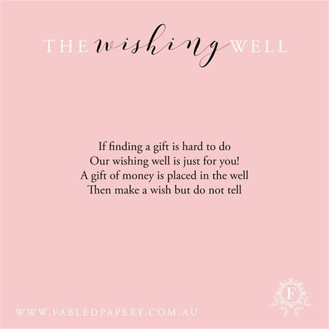 Kitchen Tea Party Invitation Ideas - 11 best wishing well poems images on pinterest wishing well poems wedding stationery and