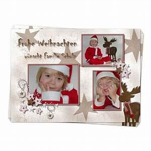 Weihnachtskarten Mit Foto Kostenlos Ausdrucken : weihnachtskarte rentier mit foto online drucken lassen ~ Haus.voiturepedia.club Haus und Dekorationen