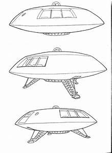 Jupiter 2 Spaceship Drawings