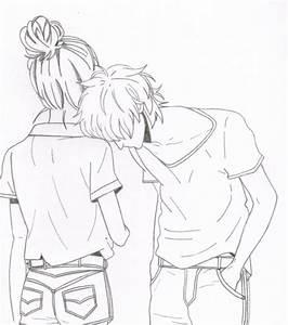 Cute Couple Drawings Tag Cute Cartoon Couple Drawings ...