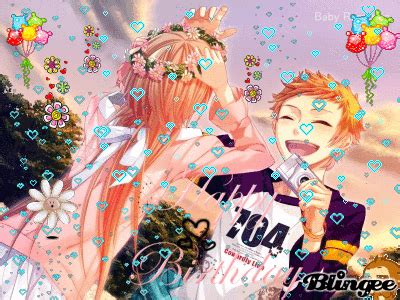 happy birthday anime couple picture 122273611 blingee com