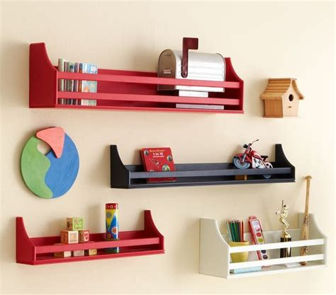 pottery barn decorative wall shelves collector s shelves contemporary display and wall