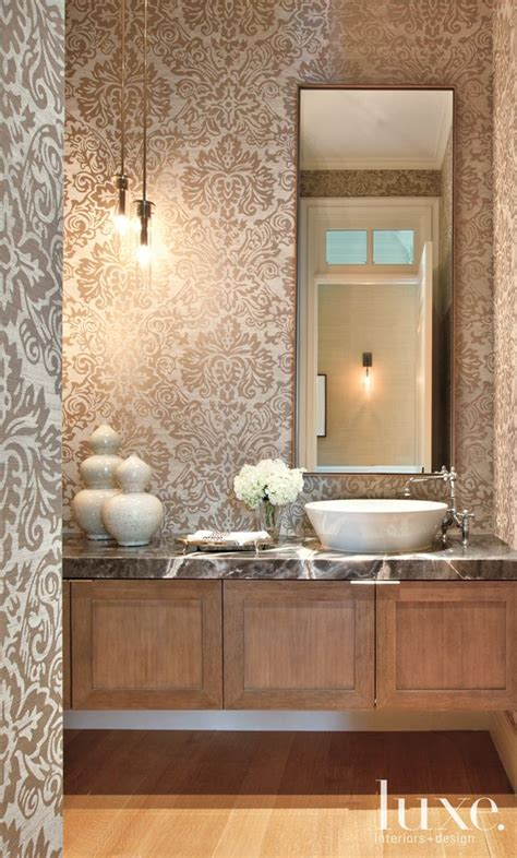 images  beautiful powder rooms  pinterest wallpapers  baths  small