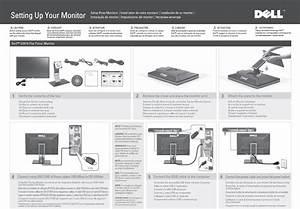 Dell U2410 Monitor Diagrama De Configuraci U00f3n User Manual