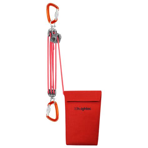 pulley hexan rescue system  integral locking  heightec