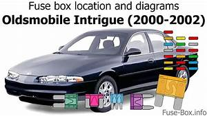 Fuse Box Location And Diagrams  Oldsmobile Intrigue  2000