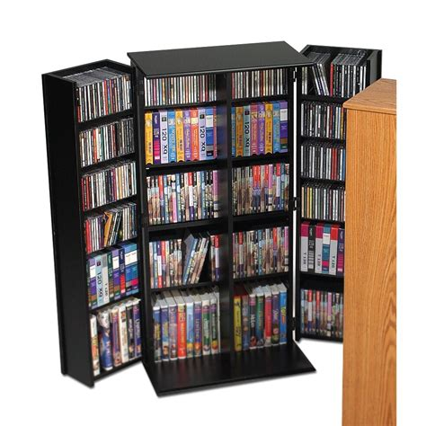 prepac deluxe multimedia locking storage cabinet with