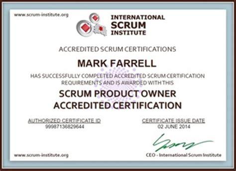 certifications p farrell s e resume