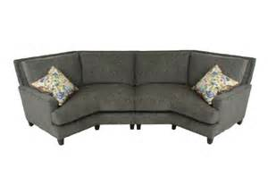 Sam Moore Leather Sofa by Curved Sofas Urbancabin