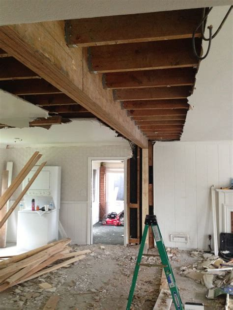 ft beam  replace load bearing wall stuff  dig