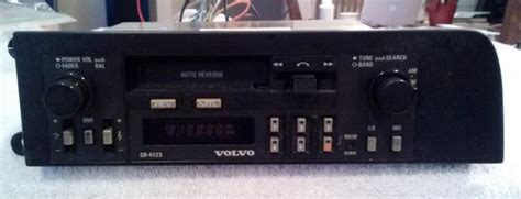 Volvo 240 Radio by Volvo 240 Am Fm Cassette Stereo Cr 4123 Volvo Forums