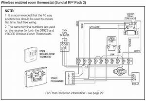 Wiring Diagram For Honeywell Rth7400