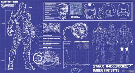 iron man blueprints stark industries   hd