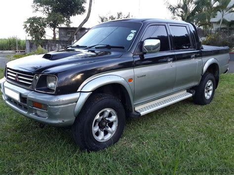 Mitsubishi For Sale by Used Mitsubishi L200 4x4 1998 L200 4x4 For Sale