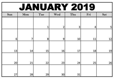 calendar january  printable  sheet calendar
