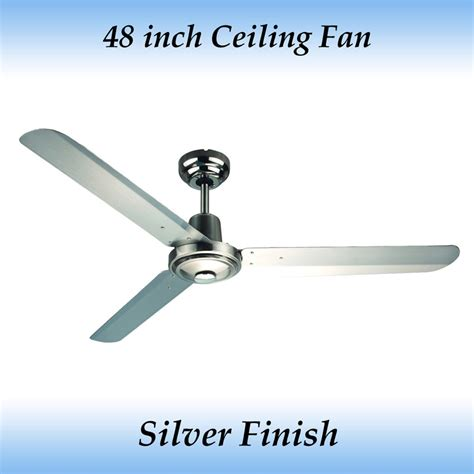 sparky 48 inch 1200mm 3 blade silver stainless steel