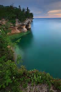 Lake Superior Pictured Rocks Michigan