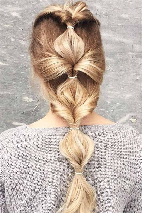 Easy Hairstyles For by 18 Easy Hairstyles For Busy Mornings Hairstyles