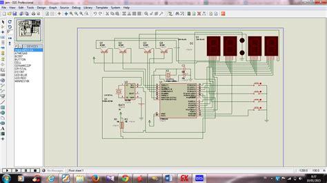 elektronika jam digital menggunakan atmega8 dan rtc ds1307