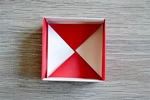 Comment Faire Une Boite En Origami : fais ta boite en papier origami maman tout faire ~ Dallasstarsshop.com Idées de Décoration