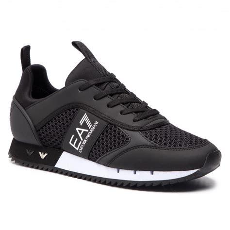 sneakers ea emporio armani xx xk  blackwhite sneakers  shoes mens shoes