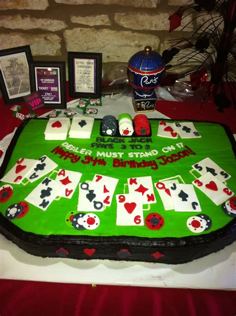 madabout cakes  poker table casino cake