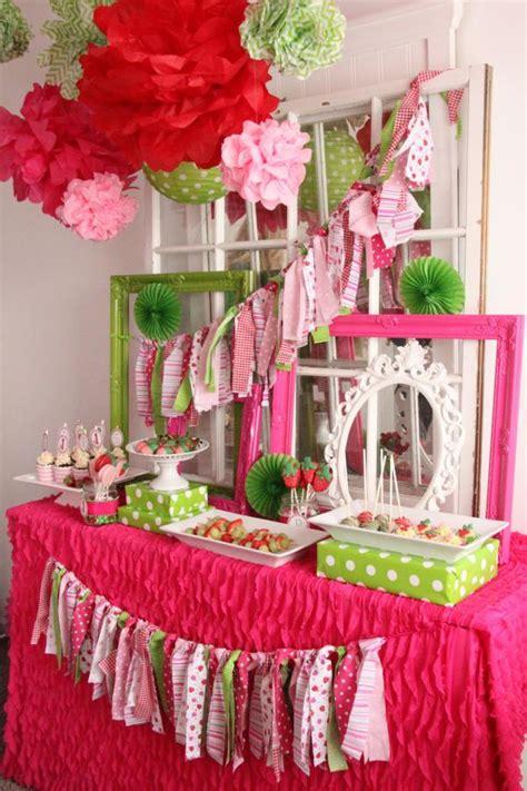 1st birthday ideas for baby girl party themes inspiration kara 39 s party ideas strawberry 1st birthday party kara 39 s