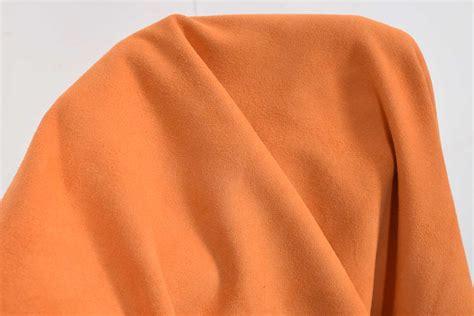 Ziegenleder Velours 0,5 Mm Anguria Orange