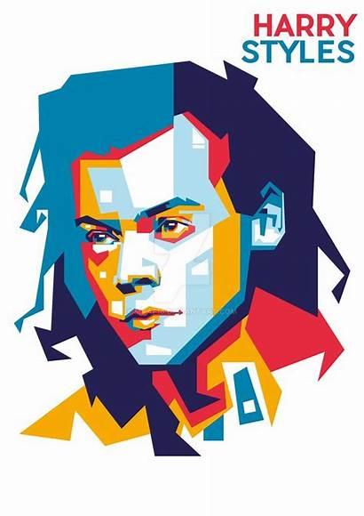 Harry Pop Graphic Deviantart Merch Dibujos Arte