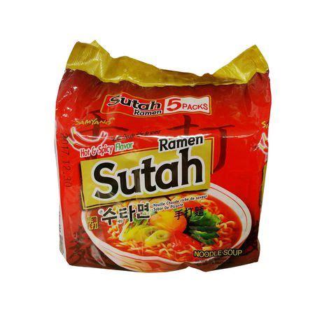 samyang sutah ramen spicy flavor noodle soup