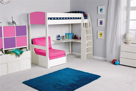 High Sleeper Sofa Bed by High Sleeper Bed With Desk And Sofa Argos Bunk Beds
