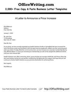 price increase sample letter scrumps