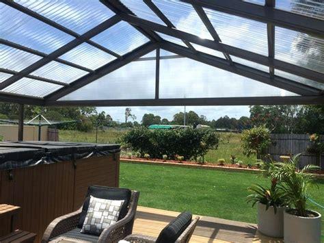 translucent patio roof panels pergola rain covers light home design polycarbonate ideas