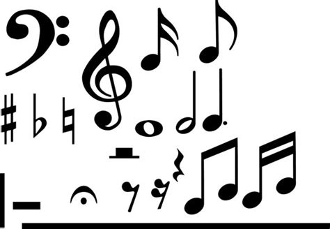 Music Symbols Drawing At Getdrawings.com