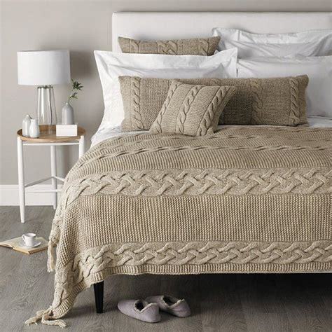 cable knit comforter the world s catalog of ideas
