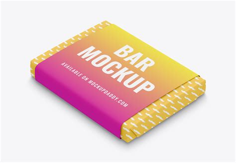 Here we present you a brand new chocolate bar packaging mockup psd file for your product branding project. Chocolate Bar Wrapper Mockup - Mockup Daddy