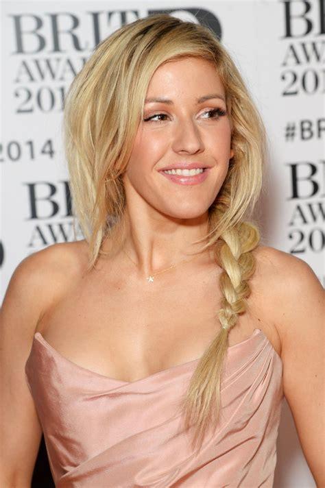 Ellie Goulding Wearing Vivienne Westwood Dress - 2014 BRIT ...