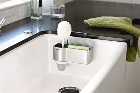 simplehuman sink caddy suction cups sink caddy simple kitchen stainless steel