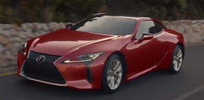 lexus commercial actor 2017 lexus lc tv advert song