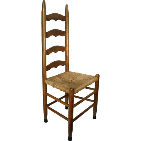 vintage mid century statesville n c rush cane seat slat