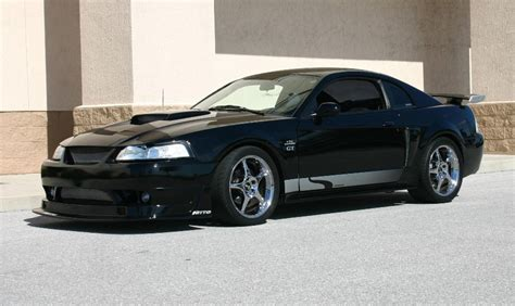 Black 2003 Ford Mustang Gt Steeda Coupe Mustangattitude