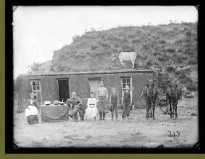 Pictures of Sod Houses On the American Frontier