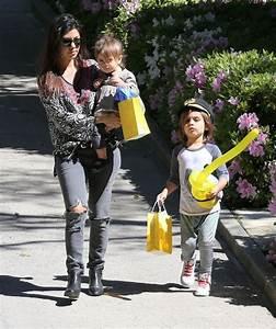 Penelope Disick in Kourtney Kardashian & Kids At A ...